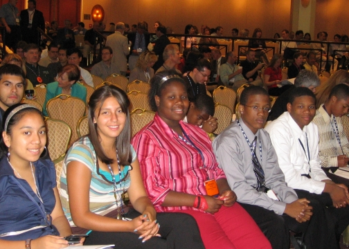Hopeworks 'N Camden Students Delivered The Keynote Presentation At The Conference