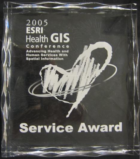 ESRI 2005 Service Award