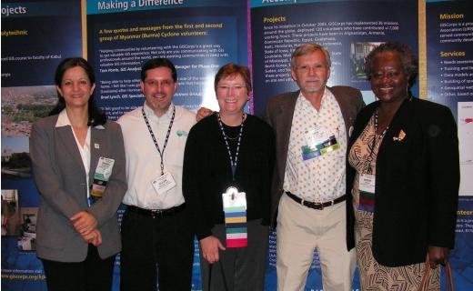 GISCorps CC Members; Shoreh, Allen, Dianne, Mark, Ingrid
