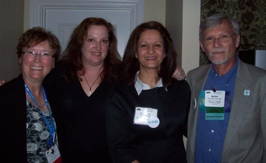 Fr L: Dianne, Heather, Shoreh, Mark