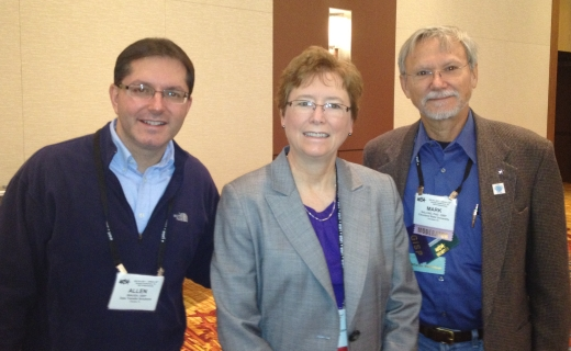 Fr L: Allen, Dianne, Mark