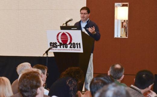Allen Ibaugh presenting