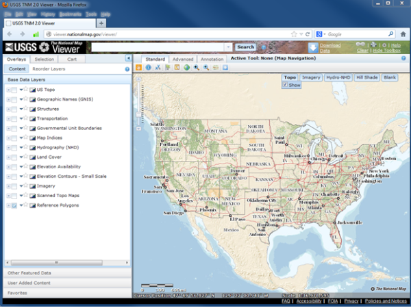Pilot Project with USGS National Map Corps   GISCorps