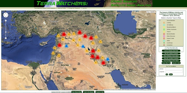 Crowdsourcing Project – Middle East