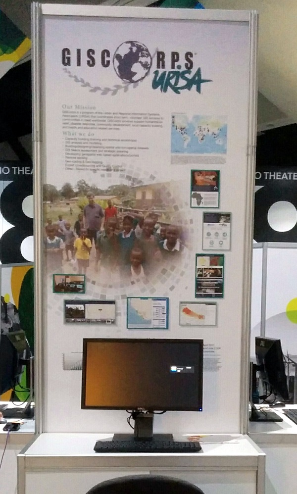 GISCorps poster/booth