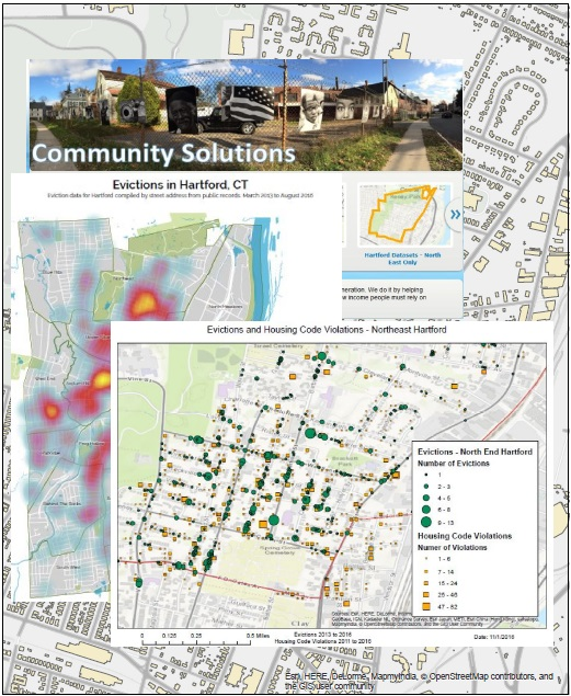 Community Solutions Evictions Map