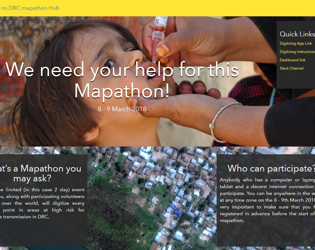 Volunteers Participate In Mapathon Hosted By WHO/CDC