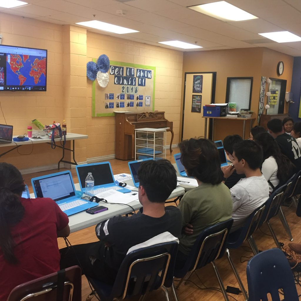 Teaching GIS To Youth At KidWorks