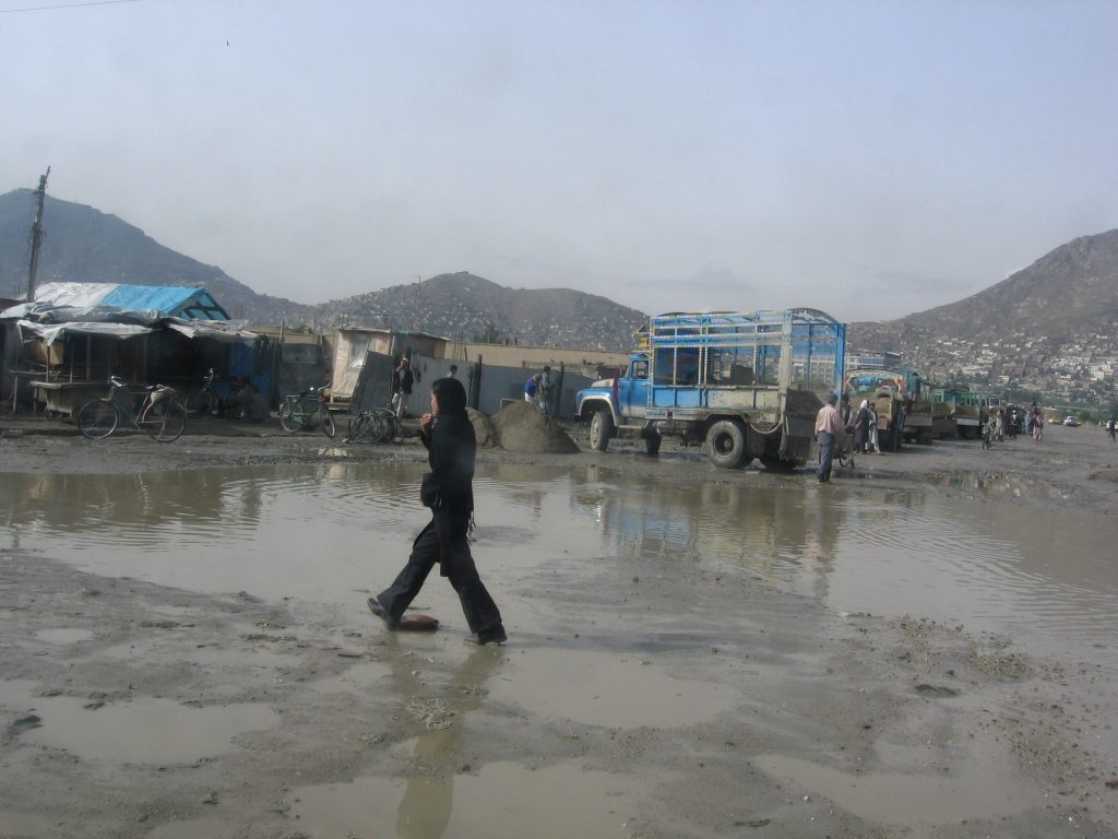 Rain in Kabul, a blessing and a curse...