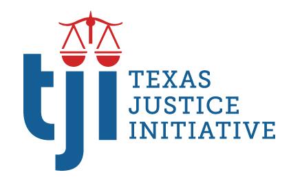 Texas Justice Initiative logo