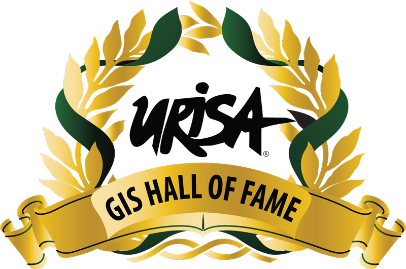 URISA Hall of Fame badge