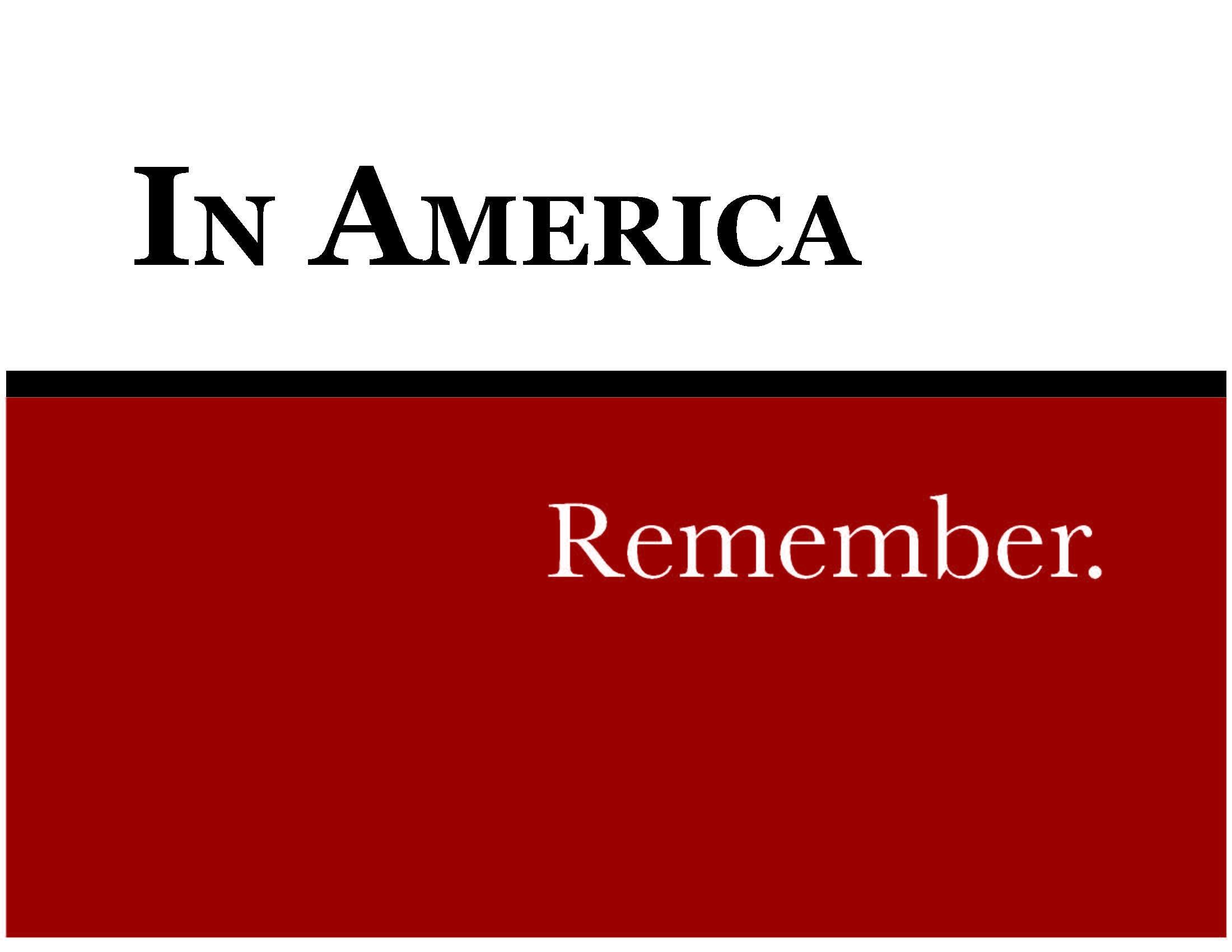 In America: Remember Logo